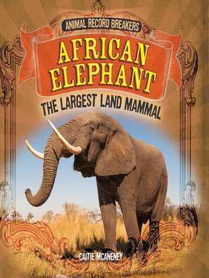 cover image of African Elephant: The Largest Land Mammal