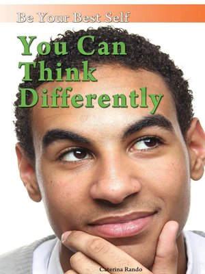 cover image of You Can Think Differently
