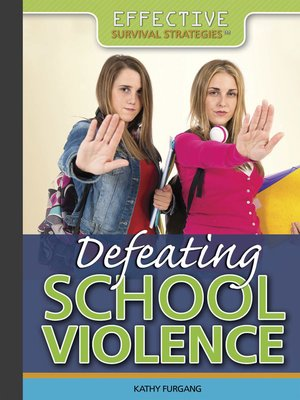 cover image of Defeating School Violence