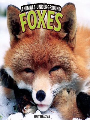 cover image of Foxes