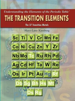 cover image of The Transition Elements