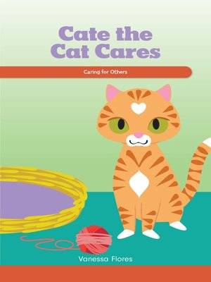 cover image of Cate the Cat Cares