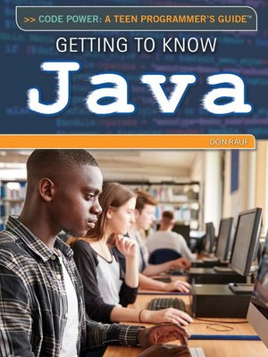 cover image of Getting to Know Java