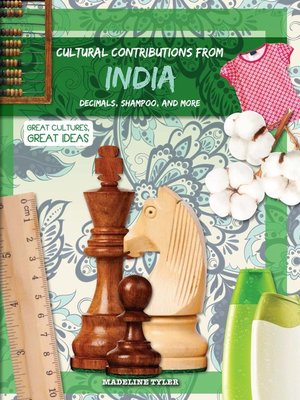 cover image of Cultural Contributions from India
