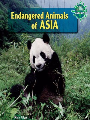 cover image of Endangered Animals of Asia