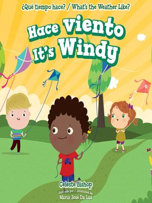cover image of Hace viento / It's Windy