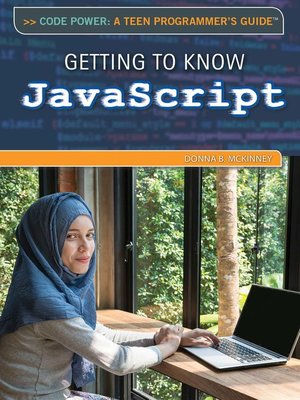 cover image of Getting to Know JavaScript
