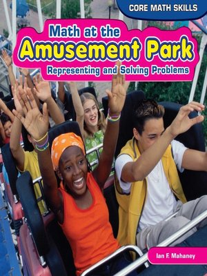 cover image of Math at the Amusement Park