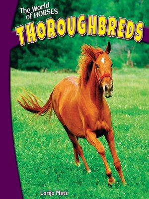 cover image of Thoroughbreds