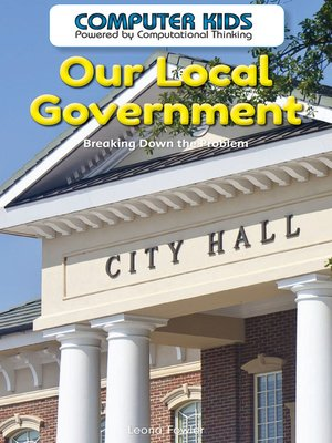 cover image of Our Local Government