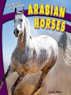 cover image of Arabian Horses
