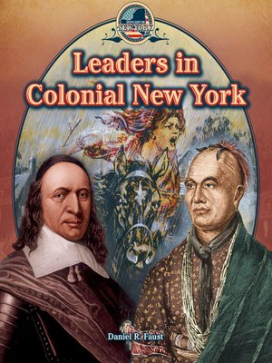 cover image of Leaders in Colonial New York