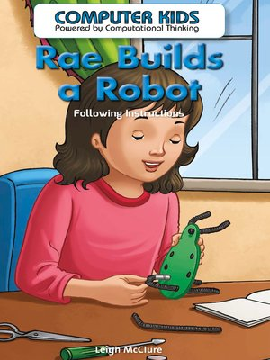 cover image of Rae Builds a Robot