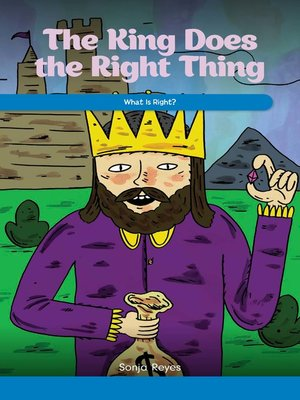cover image of The King Does the Right Thing