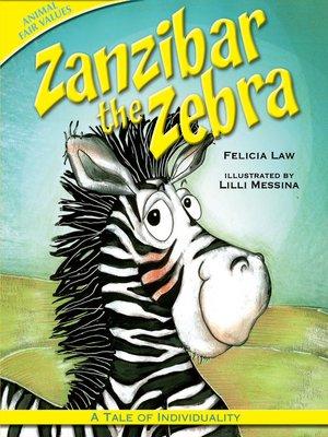 cover image of Zanzibar the Zebra