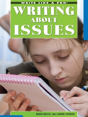cover image of Writing About Issues
