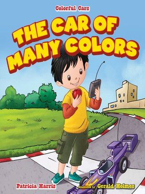 cover image of The Car of Many Colors