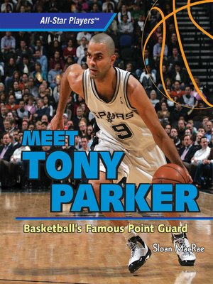 cover image of Meet Tony Parker