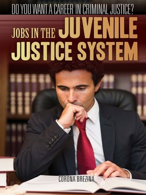 cover image of Jobs in the Juvenile Justice System