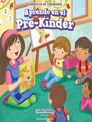 cover image of Aprendo en el Pre-Kínder (Learning at Pre-K)