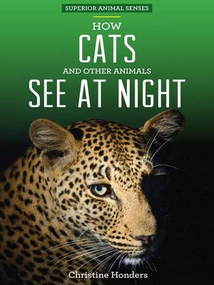 cover image of How Cats and Other Animals See at Night