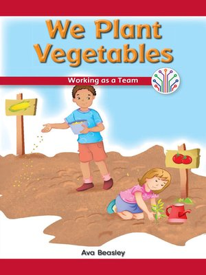 cover image of We Plant Vegetables