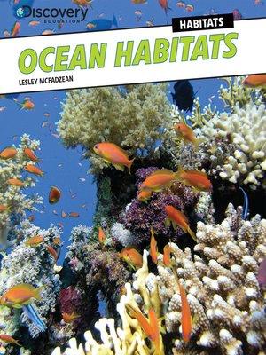 cover image of Ocean Habitats