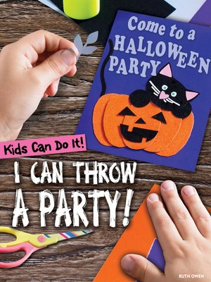 cover image of I Can Throw a Party!