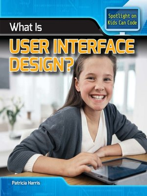 cover image of What Is User Interface Design?