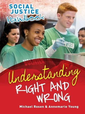 cover image of Understanding Right and Wrong