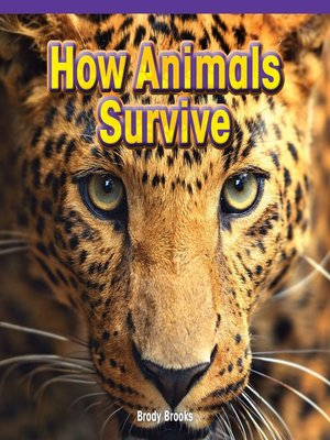 cover image of How Animals Survive