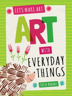 cover image of Art with Everyday Things