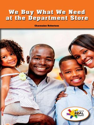 cover image of We Buy What We Need at the Department Store