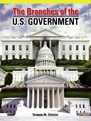 cover image of The Branches of the U.S. Government