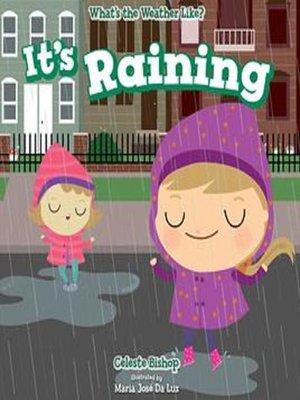 cover image of It's Raining