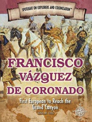 cover image of Francisco Vázquez de Coronado
