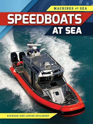 cover image of Speedboats at Sea