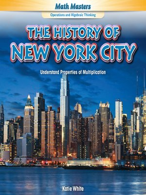 cover image of The History of New York City