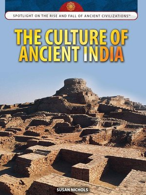 cover image of The Culture of Ancient India