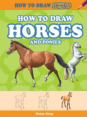 cover image of How to Draw Horses and Ponies