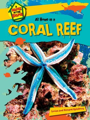 cover image of At Home in a Coral Reef