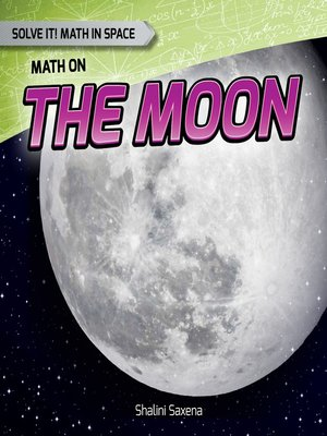 cover image of Math on the Moon