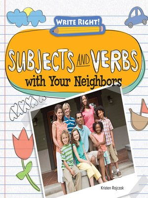 cover image of Subjects and Verbs with Your Neighbors