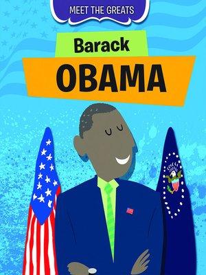 cover image of Barack Obama