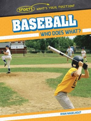 cover image of Baseball: Who Does What?