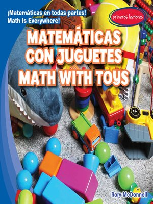 cover image of Matemáticas con juguetes / Math with Toys