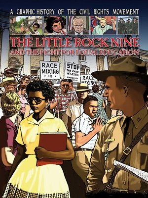 cover image of The Little Rock Nine and the Fight for Equal Education