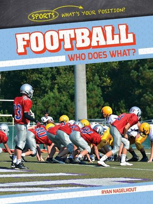 cover image of Football: Who Does What?