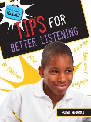 cover image of Tips for Better Listening
