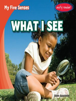 cover image of What I See
